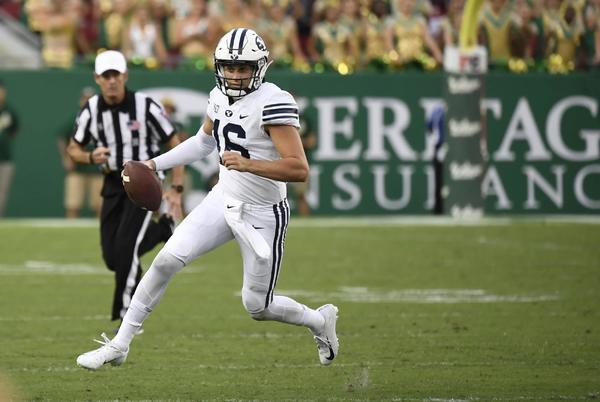 Picture for BYU Opens as 23-Point Favorite Over South Florida