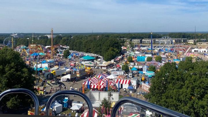 Cover for 2021 NC State Fair attendance numbers appear low after a canceled year due to COVID-19