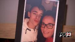 Cover for Mother of murdered Pryor teenager speaks about his death