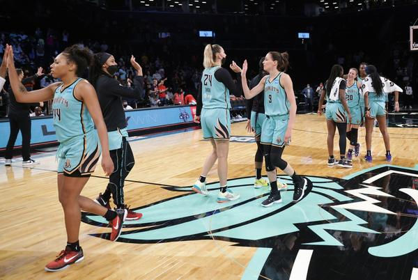 Picture for Liberty earn final WNBA playoff spot in crazy fashion
