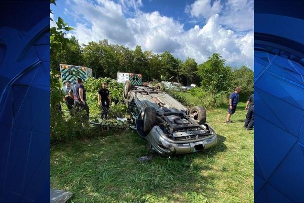 Picture for Crews Respond to Car Rollover on Route 8 in Seymour