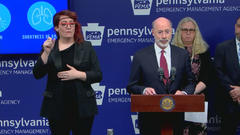 Cover for 'We Are At A Pivotal Moment': Gov. Tom Wolf Begs Pennsylvania Lawmakers To Talk To Unvaccinated Constituents