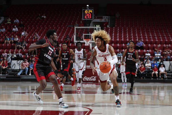 Picture for In Alabama Debut, J.D. Davison Displays Poise as Freshman