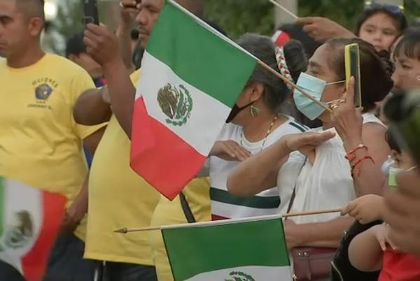 Picture for Little Village holds 'El Grito De Dolores' celebration ahead of Mexican Independence Day