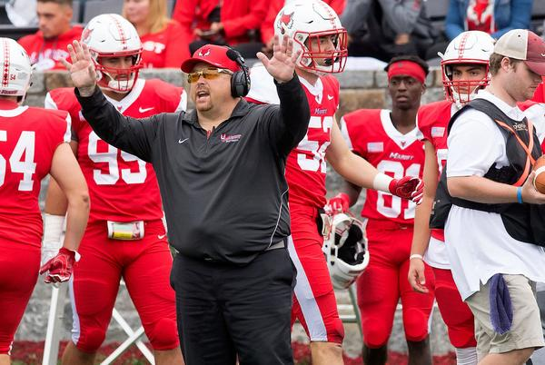 Picture for Marist football returns to action vs. Columbia following nearly two-year layoff
