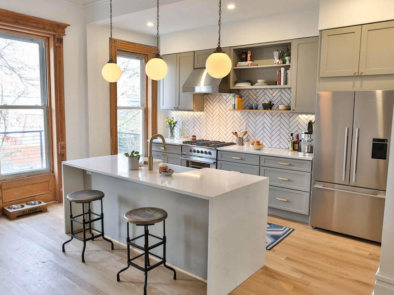 Brownstone Boys How To Get Budget Kitchen Cabinets With A High End Look News Break