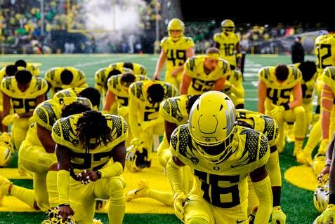Picture for Photos from No. 4 Oregon's 48-7 win over Stony Brook
