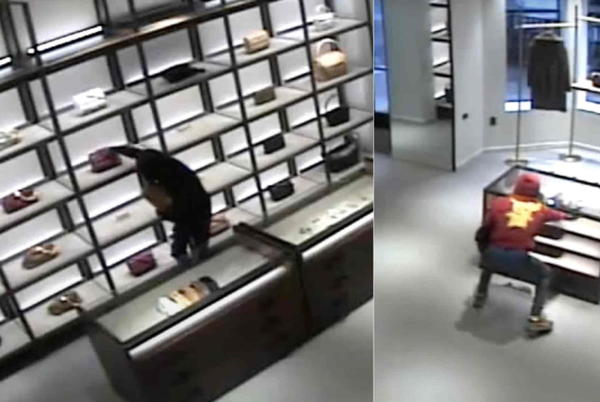 Picture for Video: Thieves steal purses worth ten$ of thousand$ from Mag Mile boutique