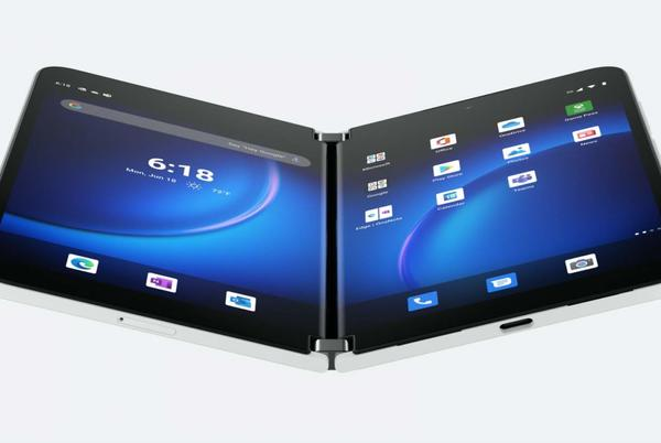 Picture for Surface Duo 2 gives Android clamshell 5G and a big spec boost