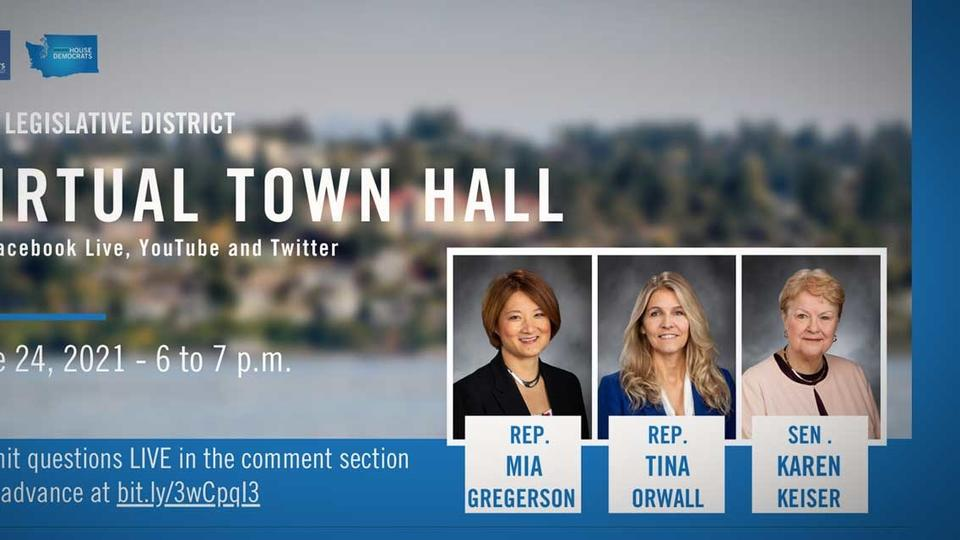 Picture for 33rd Legislative District lawmakers holding Town Hall on Thursday, June 24