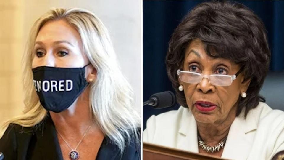 Picture for Marjorie Taylor Greene to introduce resolution to expel Maxine Waters