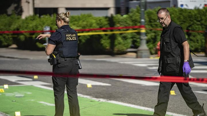 Cover for 'A dangerous time': Portland, Oregon, sees record homicides