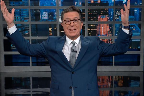 Picture for Stephen Colbert Celebrates Results Of Arizona Election Audit – WM Leader
