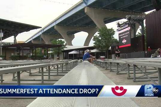 Picture for Summerfest attendance down sharply