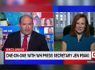 Picture for CNN's Brian Stelter gets roasted for 'sycophantic' Jen Psaki interview