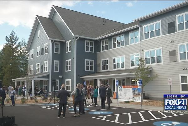 Picture for New Affordable Housing Opens on Decker Road