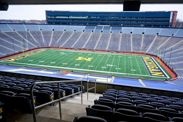 Picture for 5 fans ejected from University of Michigan football game versus Northwestern