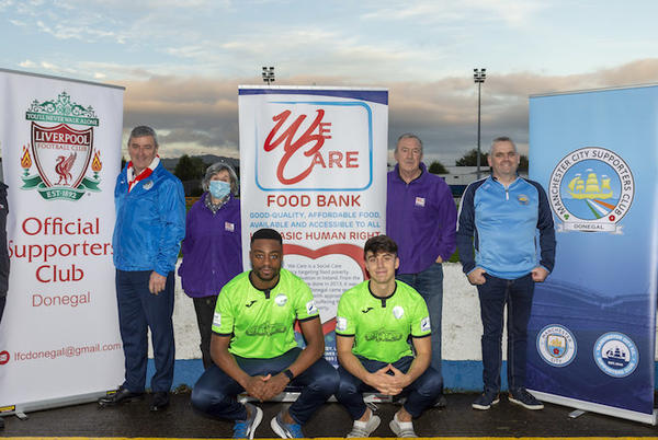 Picture for Finn Harps vs Sligo Rovers preview; We Care Food Bank Donegal collection