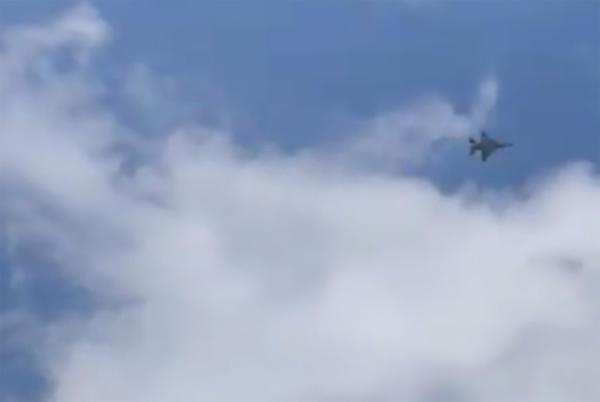 Picture for F-16 fighter jet intercepts Cessna that flew into restricted air space in NYC