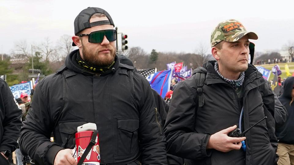 Picture for New Telegram audio transcripts show how Proud Boys panicked when members started getting arrested after the Capitol riot