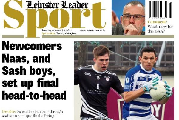 Picture for In this week's Leinster Leader Sport