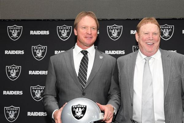 Picture for Las Vegas Raiders owe Jon Gruden $40 million, expected to work out settlement, per report