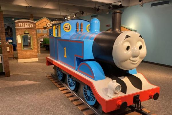 Picture for The Thomas & Friends: Explore the Rails exhibit is open at Science Spectrum