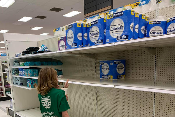 Picture for Shoppers Find Half-Empty Aisles in St. Charles County