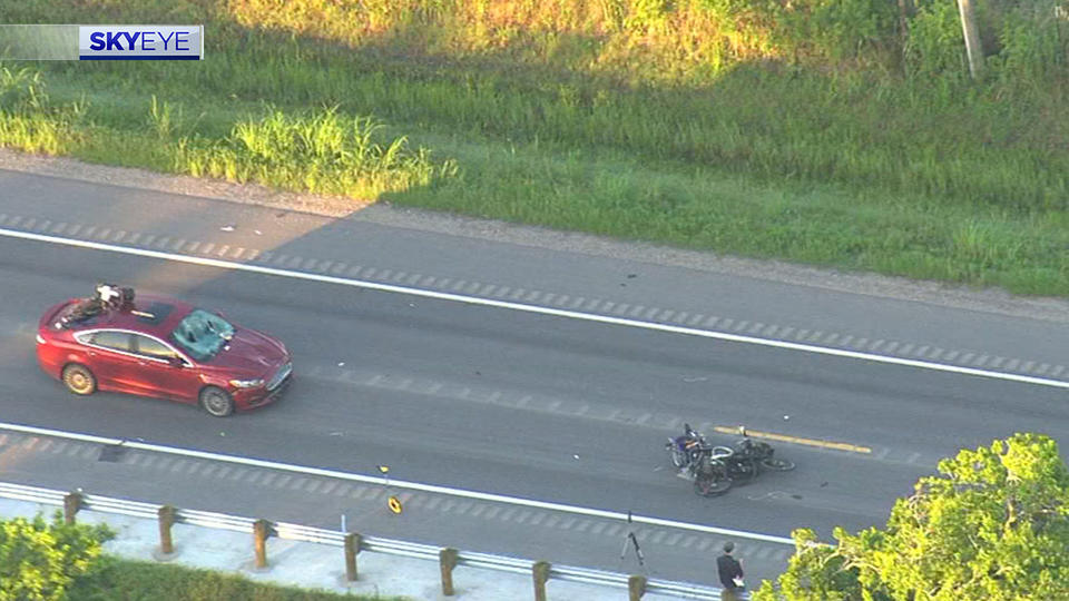 Picture for Pedestrian killed in crash with car on FM 1942 in Crosby