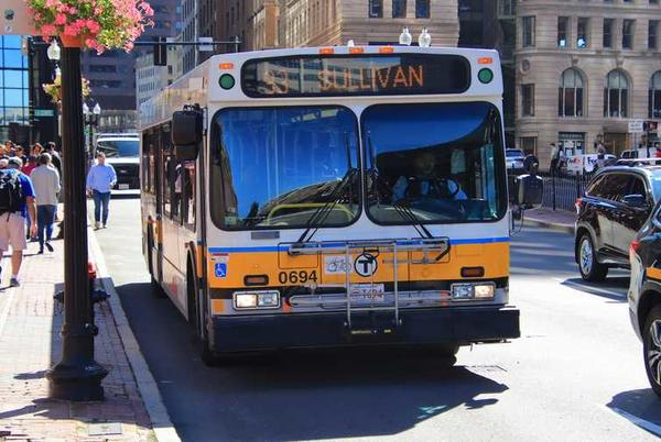 Picture for Massachusetts buses to test use of Interstate 93 breakdown lane
