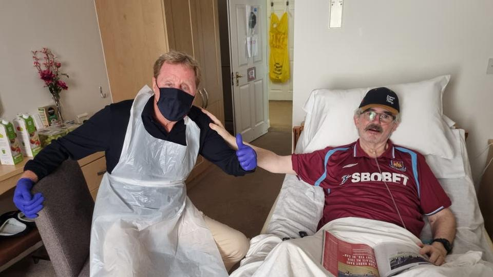 Picture for Harry Redknapp surprises fan at care home after manager chased him down street