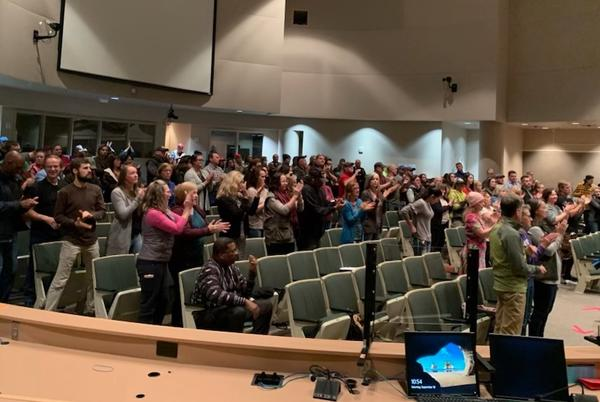 Picture for Breaking: Over 250 end up testifying to Allard, Bronson against vaccine mandates, mask mandates, and onerous work rules