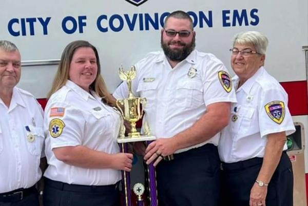 Picture for Saving lives is a family affair for Covington's EMT state champions