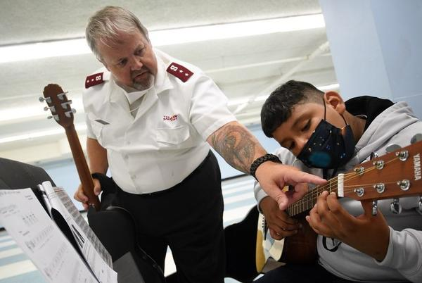 Picture for Salvation Army hopes free music program can open doors for kids