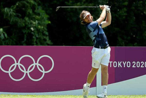 Picture for Tokyo 2020 Olympics: men's golf begins, heat forces tennis change – live!