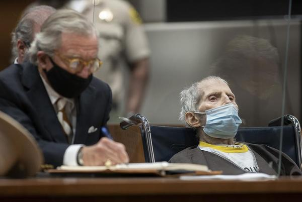 Picture for Robert Durst hospitalized with COVID-19, his lawyer says