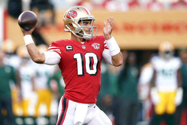 Picture for 49ers fans roast Jimmy Garoppolo to the benefit of Trey Lance