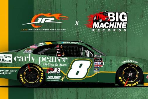 Picture for Sam Mayer and JR Motorsports get sponsorship from Big Machine Records as Vegas