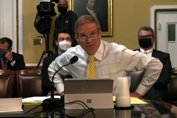 Picture for Rep. Jim Jordan tells House panel he can't recall how many times he spoke with Trump on Jan. 6