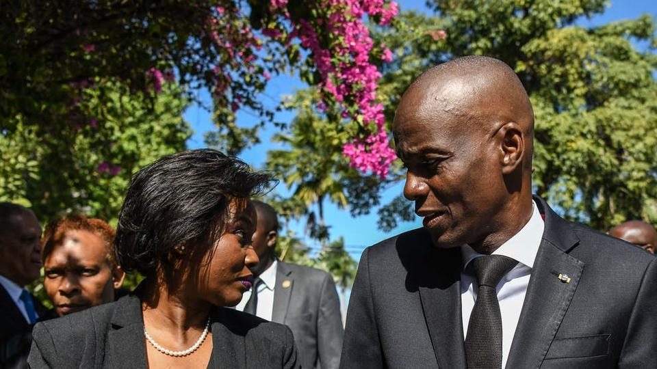 Picture for 'They thought I was dead': Haitian president's widow on assassination