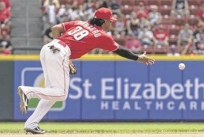Picture for Reds competing for playoffs drop two-thirds on the depleted Cubs