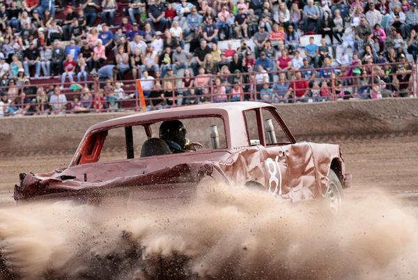 Picture for Sunday's Demo Derby In Colfax Re-Scheduled