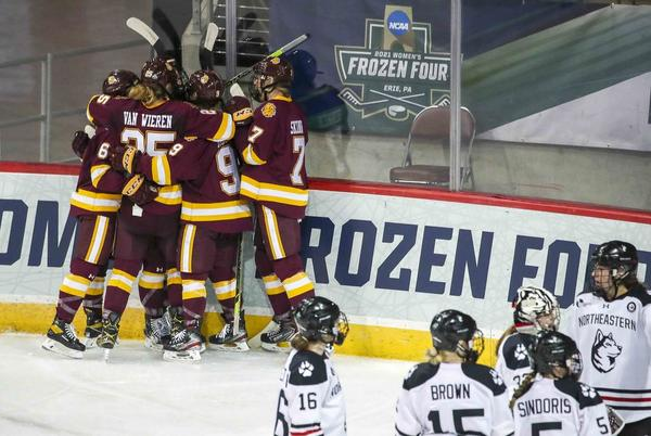 Picture for WCHA Media Day: Coaches disappointed, not surprised NCAA tabled tournament expansion proposal