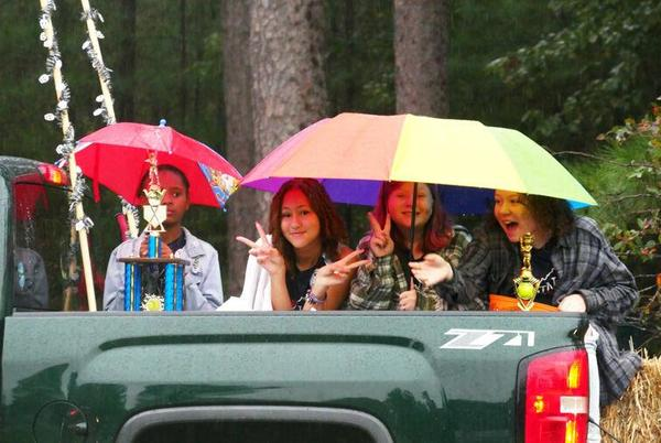 Picture for Jarratt Fall Festival soldiers on despite heavy Saturday rain