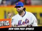 Picture for Listen to Episode 57 of 'Amazin' But True': Catching Up With 2012 Mets Cy Young Award Winner R.A. Dickey