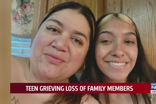 """Picture for """"I wish I said bye to my dad,"""" Oklahoma teen loses mother months after father, sister die from COVID-19"""