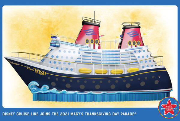 Picture for Disney Cruise Line will float into Macy's Thanksgiving Day Parade