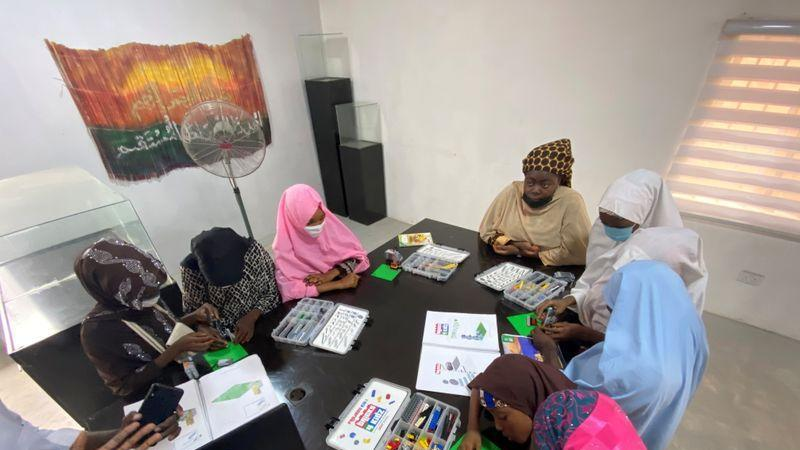 Picture for Teenage girls in northern Nigeria 'open their minds' with robotics