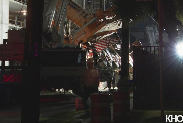 Picture for Crane topples over at Midtown construction site