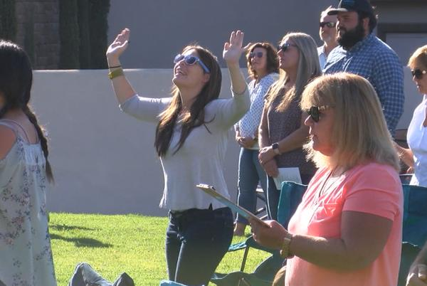 Picture for Highlands Church is taking its services outdoors